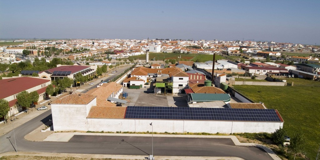 Planta Solar Olivarera los Pedroches