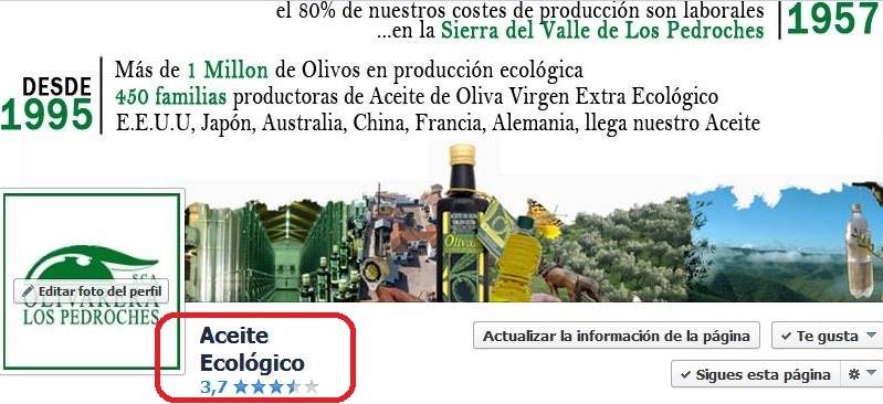 Opiniones Facebook Aceite Ecologico