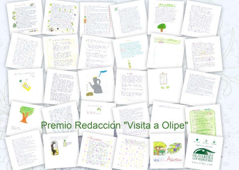 PREMIO REDACCION VISITA A OLIPE