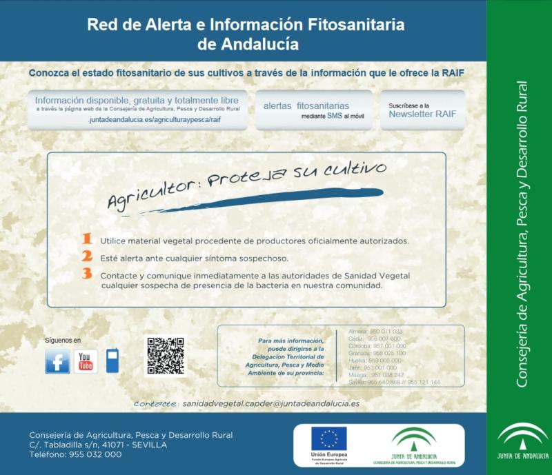 Red de Alerta e Informacion Fitosanitaria de Andalucia