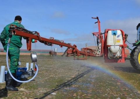 Inspecion tecnica de equipos de aplicacion de fitosanitatio Aceite Ecologico Olivarera los Pedroches Olivar de sierra Olipe