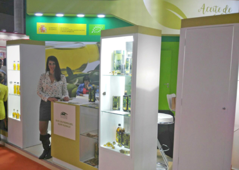 Feria Alimentaria 16 Barcelona Aceite Ecologico Olivar de sierra Los Pedroches Olivarera Olipe Olivalle